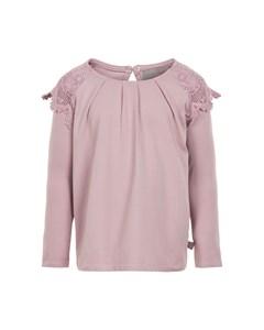 T-shirt Ls Lace Deauville Mauve