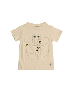 Em T-shirt Kids Swan Friends Off-white