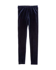 Velour Leggings Blue