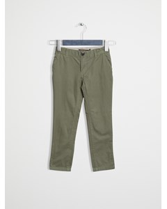 Classic Slim Fit Chino Deep Lichen Green