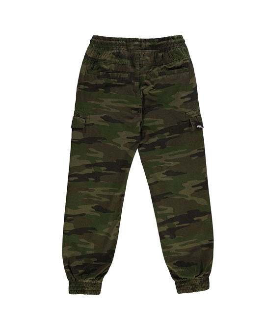 No Fear All Over Camo Print Trousers