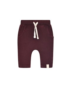 Manny Sweatpant Bordeaux
