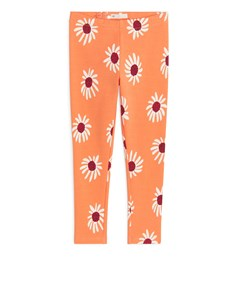 Jersey Leggings Light Orange