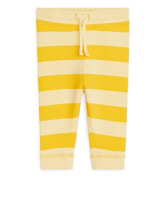Arket Trousers Yellow