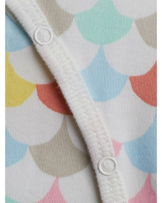 Littlephant Waves White/multi