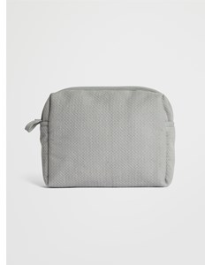 Soft Toilet Bag  Light Grey