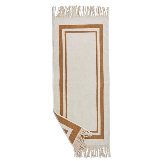 Birger 1962 Valladolid Towel, Small Camel And Creme
