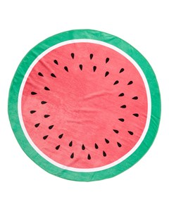 Fruit Round Terry Towel D140 Cm Red
