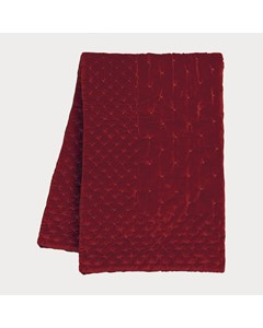 Paolo Bedspread 170x260 D-81 Bright Ochre Red