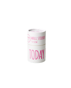 Wallsticker - Today Is Fun Neon Pink Neon Pink