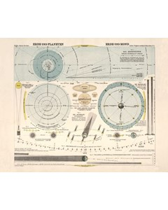 Erde Und Planeten, Erde Und Mond,1923