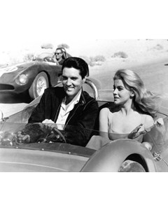Elvis Presley With Ann-margret