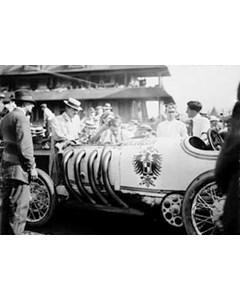 """Burman & His """"benz"""" 1910-1915"""