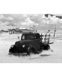 Abandoned Pick-up In Ghost Town Bodie, California