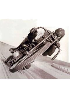 Motorcykel I Velodrom