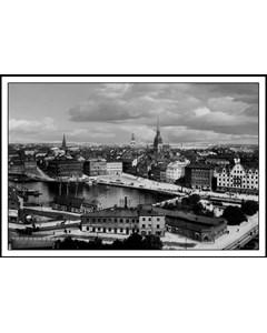 Utsikt Över Stockholm 1901