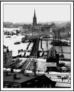 Utsikt Över Riddarholmen, Stockholm