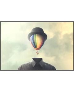 Surreal Hot Air Balloon
