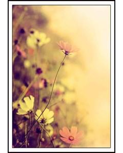 Retro Style Flower