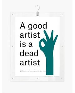 Artby X Statement Dead - 81x61
