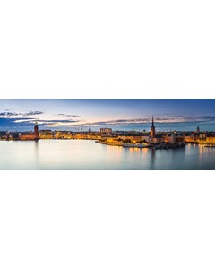 Stockholm Kvällsbild