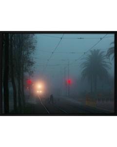 Poster Train Tracks