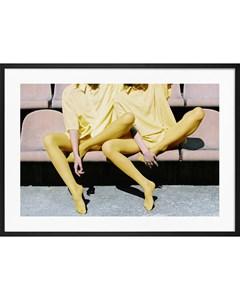 Poster Yellow Fashion No.2