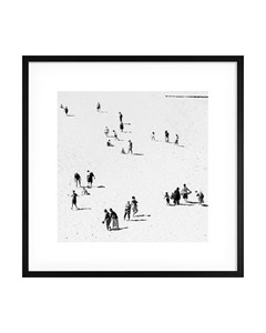 Poster White Sand Beach