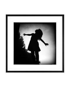 Poster Black & White Girl