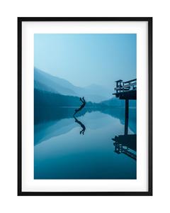 Poster Blue Deep Dive
