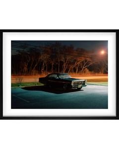 Poster Car At Night