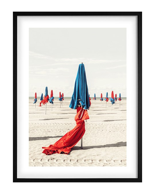 Democratic Gallery Poster Colorful Beach