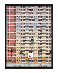 Poster Colorful Architecture
