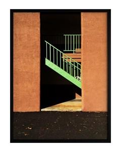 Poster Sun Green Staircase