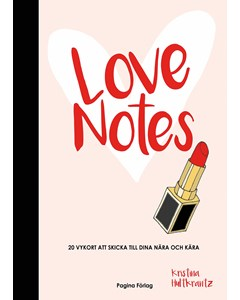 Love Notes - Book With 20 Greeting Cards White