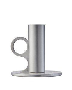 Signe Candle Holder Medium Aluminium