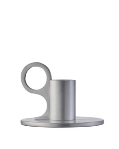 Signe Candle Holder Small Aluminium