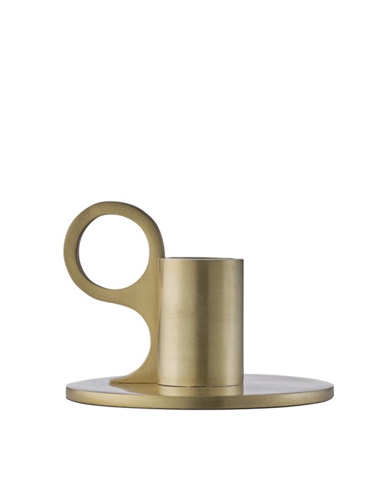 Edblad Signe Candle Holder Small Brass