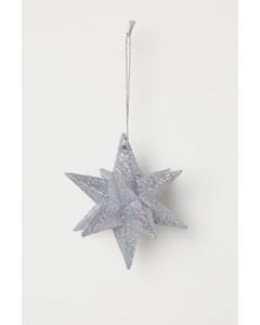 Cinderella Ornament Xmas Silver