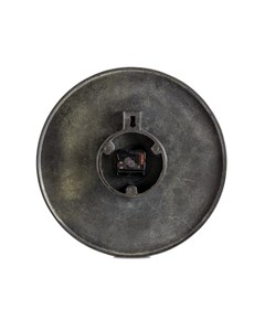 Maximes Ridges - Decorative Wall Clock - Black Nickel