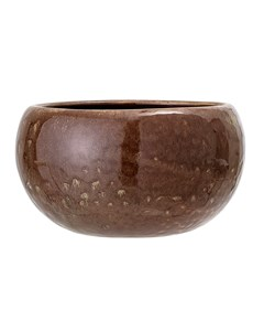 Flowerpot, Brown, Stoneware Brown