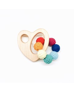 Wooden Hearth Rattle