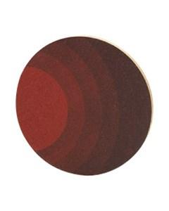 Grytunderlägg Cirklar Rund Röd-svart