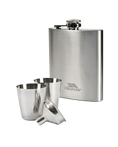 Trespass Dramcask Stainless Steel Hip Flask