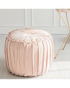 Marcel Handwoven - Indoor Pouf - Pink