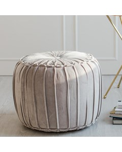 Marcel Handwoven - Indoor Pouf - Grey