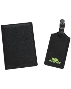 Trespass Wanderlust Passport Cover And Luggage Tag