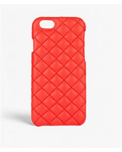 iPhone 6/6s Quilted Nappa Bright Corallo