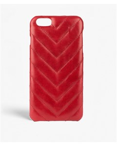 iPhone 6/6s Plus V Nappa Rosso