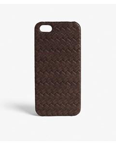 iPhone SE/5/5s Nappa Treccia Dark Brown